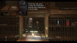 safe combination the winslow safe the royal conservatory dishonored 2