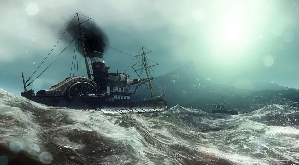 the dreadful whale ship cabin