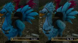 Cerulean Sky Blue Chocobo Color FFXV