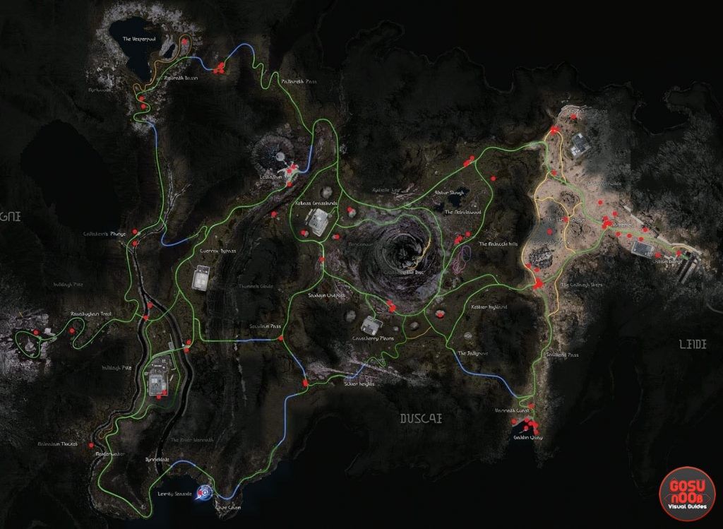 Debased Coins Location Map FFXV
