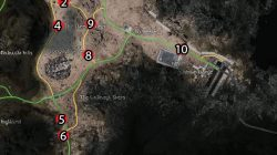 Leide Broken Car Quest Map List FFXV