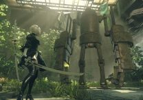 NieR Automata Fully Nude Male Character, Partially Exposed Buttocks