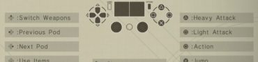 Nier: Automata Controls Button Layout