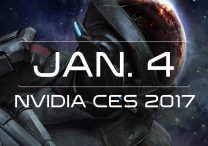 NVIDIA Ces Mass Effect Andromeda 2017
