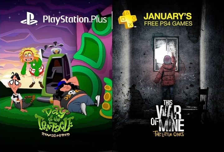 PS Plus Free January 2017 Games