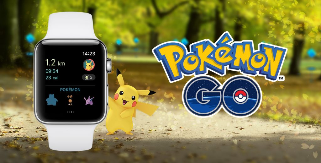 Pokemon GO on Apple Watch Now Available