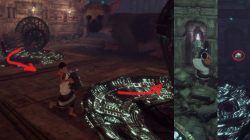 Wooden Lighting Barrels Last Guardian