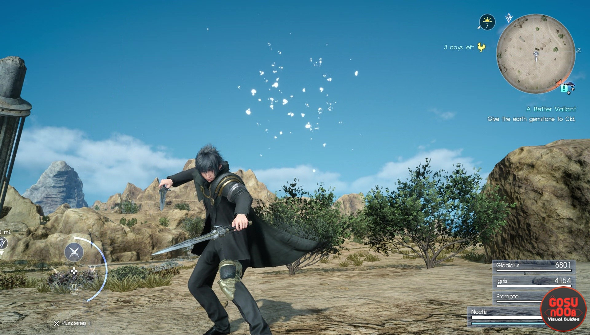 FFXV Better Pair of Plunderers Quest