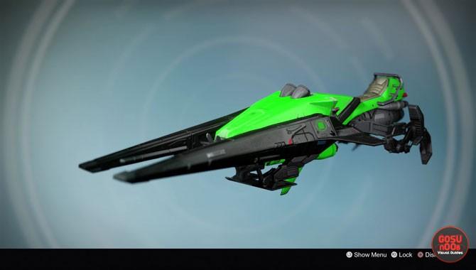 destiny lysander's cry legendary sparrow