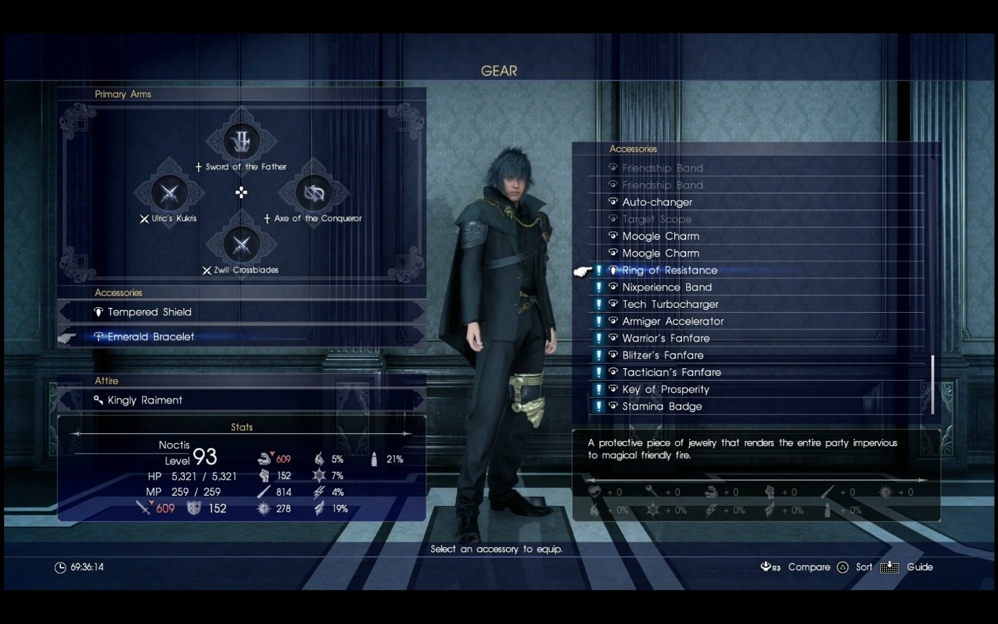 final fantasy 15 holiday pack plus all items