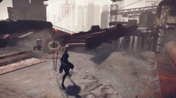 nier automata demo screenshot bridge