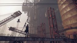 nier automata demo screenshot construction