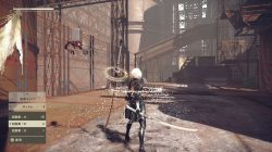 nier automata demo screenshot environment