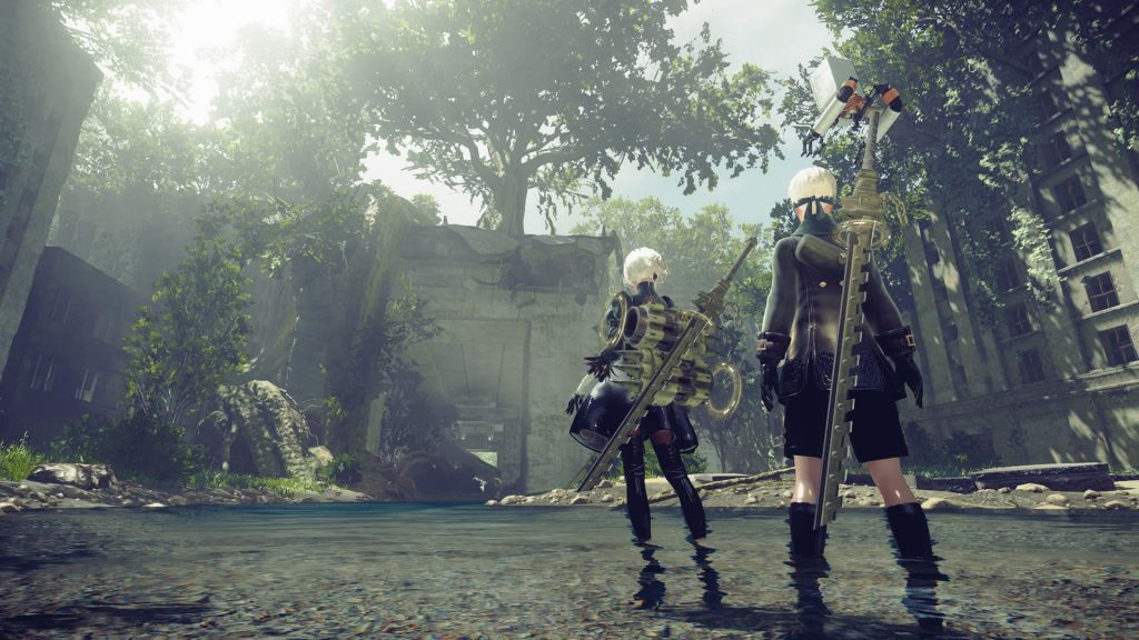 nier ruined city demo