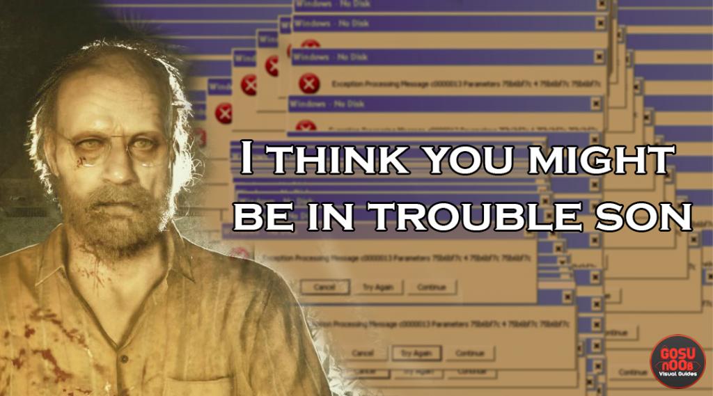 Resident Evil 7 Problems & Errors