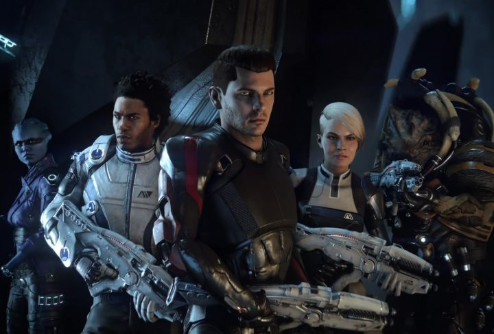 Andromeda Crew Members Mass Effect