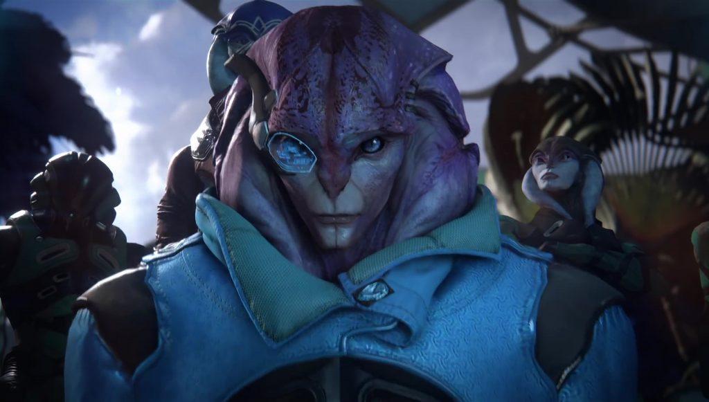 Angara Race Mass Effect Andromeda