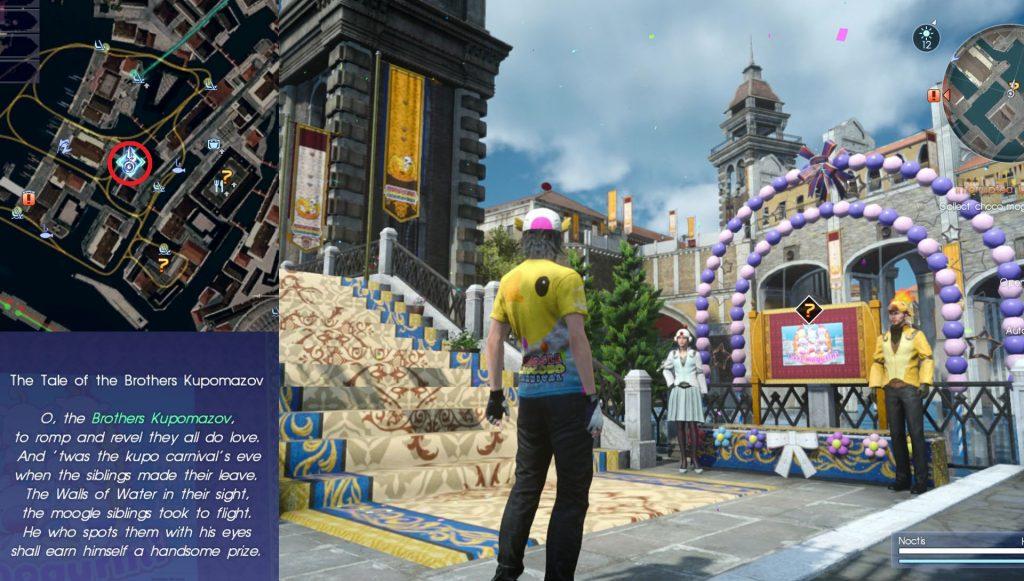 Brothers Kupomazov Carnival Quest Final Fantasy XV