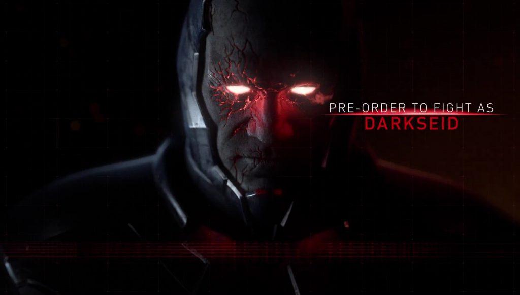 Darkseid Injustice 2 Pre-Order Bonus