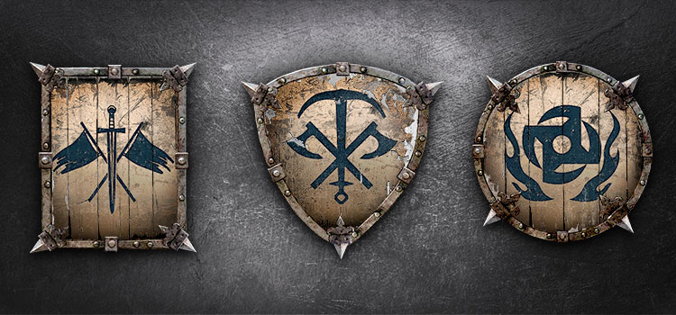 For Honor the Emblems of Old