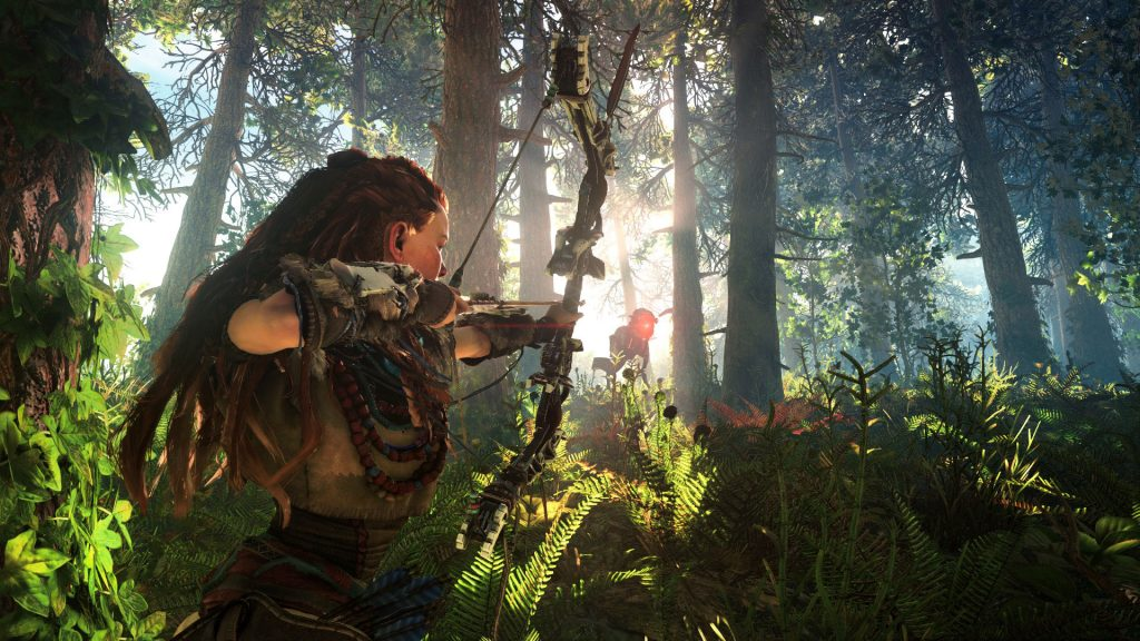 Horizon Zero Dawn Day and Night Cycles Dynamic Weather System