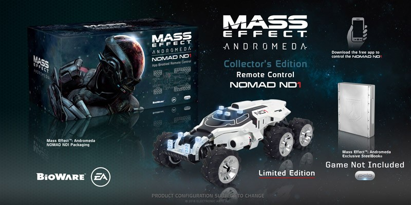 Mass Effect Andromeda Collector's Edition Remote Control Nomad ND1