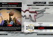 NBA 2K17 New Moments Challenge Chris Webber