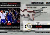 NBA 2K17 New Moments Challenge DeMar DeRozan