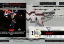 Nba 2k17 New Anthony Davis Moments Challenge
