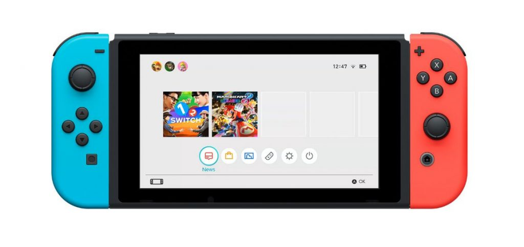 Nintendo Switch UI Details, Wireless LAN Support, Battery Replacement