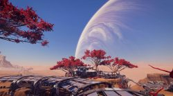 Red Bough Trees Mass Effect Andromeda