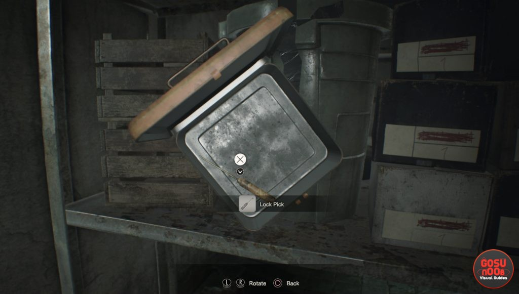 Resident Evil 7 Master of Unlocking Trophy Guide - Lock Pick Location