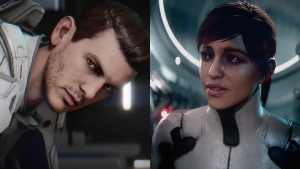 Sarah and Scott Ryder Mass Effect Andromeda