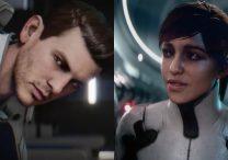 Sarah and Scott Ryder Mass Effect Andromeda