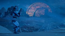 Snowy Planet Andromeda Mass Effect