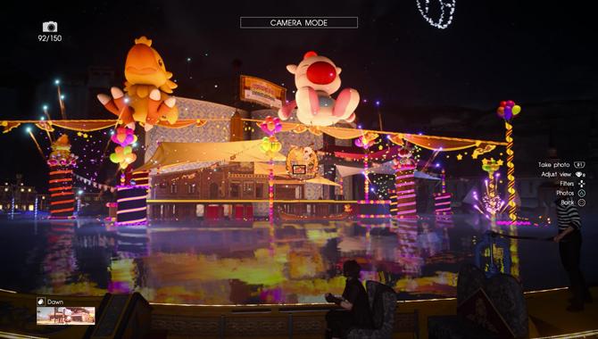The Moogle Chocobo Carnival Activities Final Fantasy XV