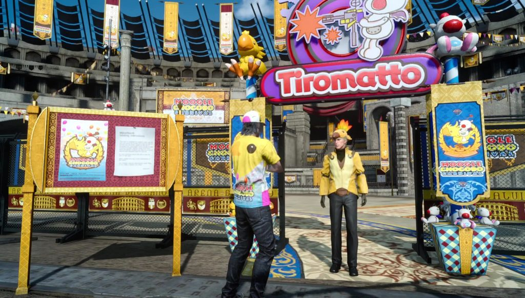 Tiromatto Moogle Chocobo Carnival January Update FFXV