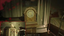 banned footage dlc bedroom puzzle clock