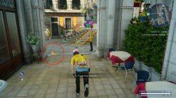 Near boy with balloons