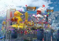 final fantasy 15 moogle chocobo carnival trailer