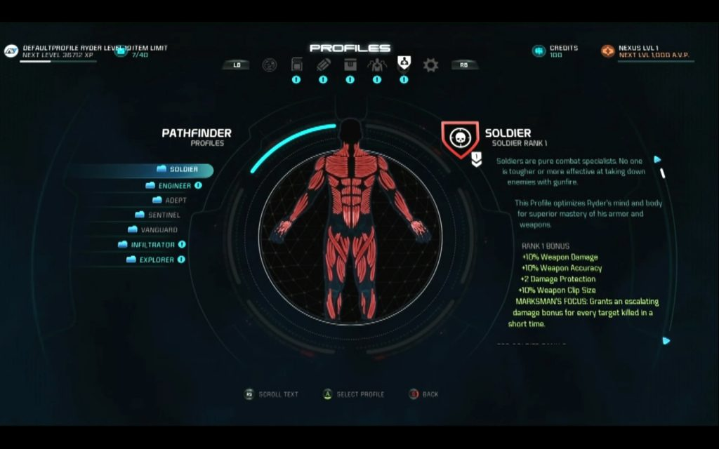 mass effect andromeda classes pathfinder profiles
