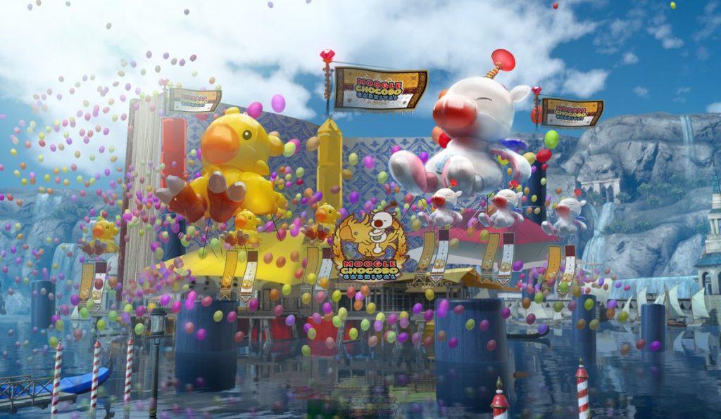 moogle chocobo carnival ffxv