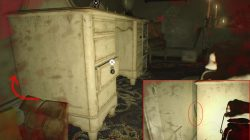 re7 bedroom knife location