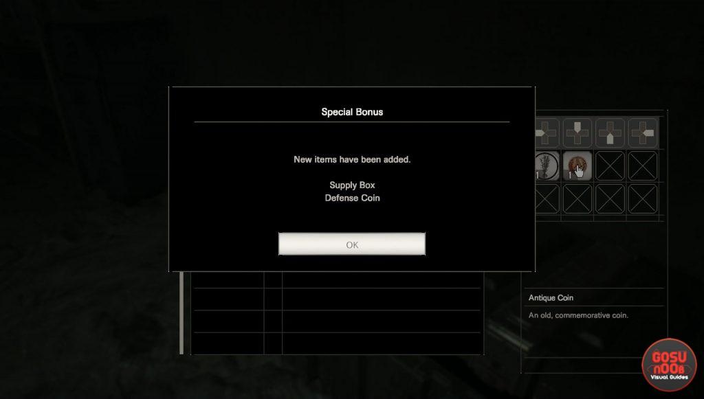 re7 how to get preorder bonus items