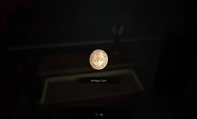 resident evil 7 antique coin locations
