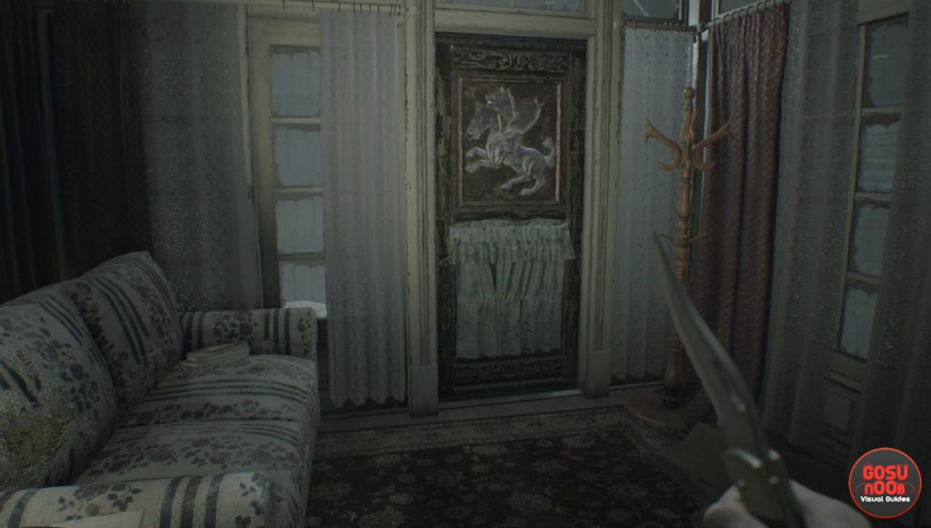 resident evil 7 dog head locations