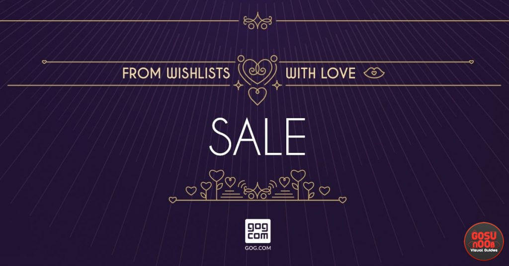 GOG.com Valentine's Day Sale Discounts & Highlights