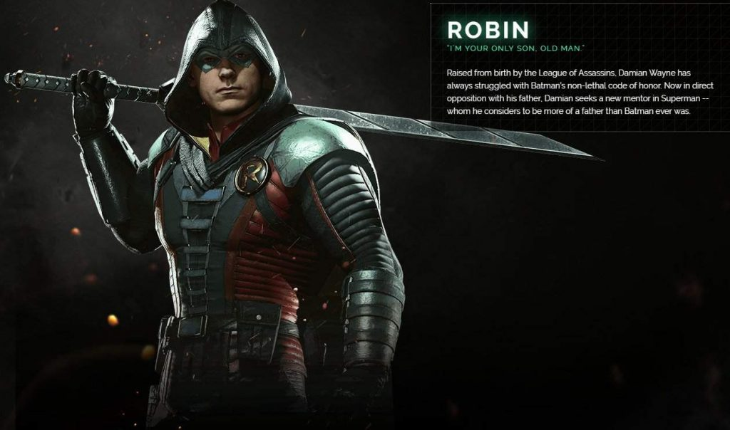Injustice 2 New Character Profiles Updated