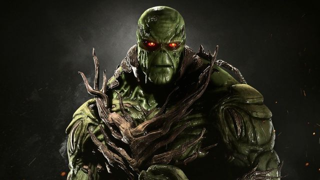 Injustice 2 Swamp Thing Gameplay Trailer Character Reveal
