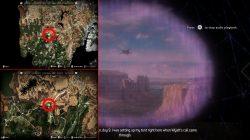 Locations of Horizon Zero Dawn Vantage Points Eagles Canyon